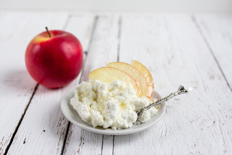 РД на яблоках и твороге