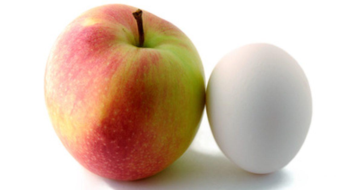 РД на яблоках и яйцах