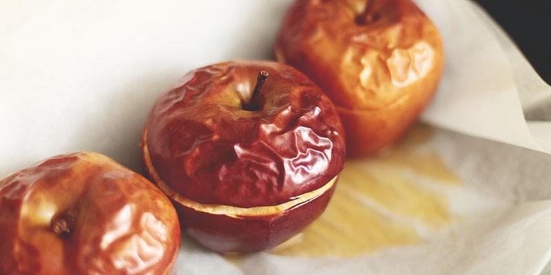 Разгрузочный день на печеных яблоках