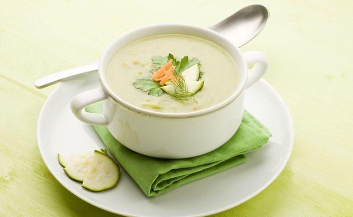 куриный крем-суп с кабачком
