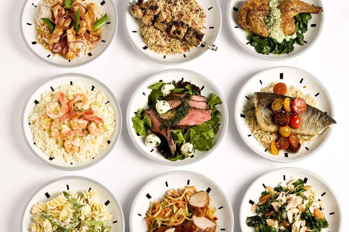 Примерное меню при правильном питании