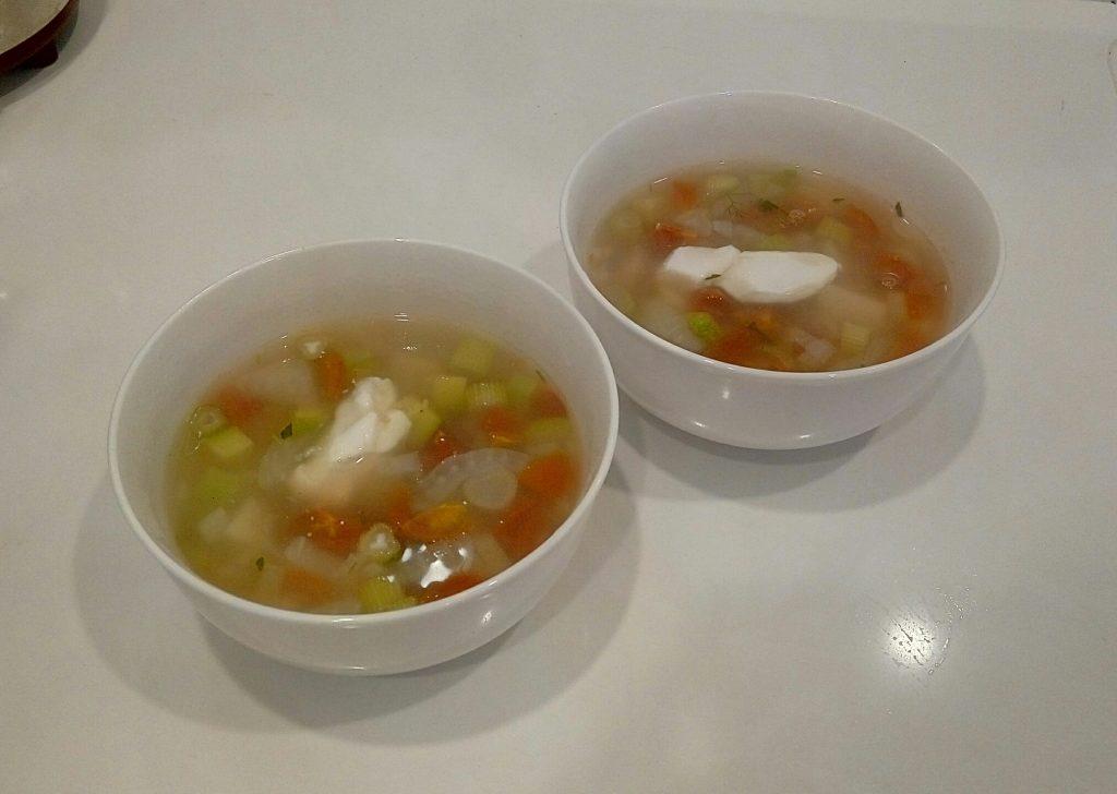 Кабачковый суп с фенхелем