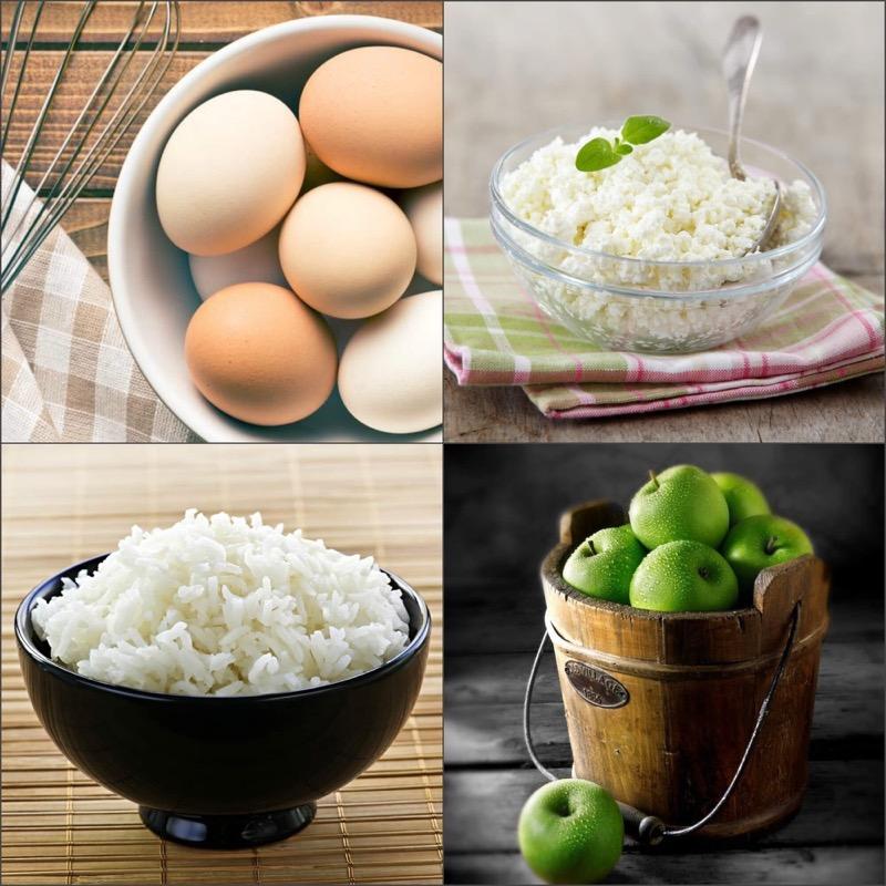 Яйца рис диета