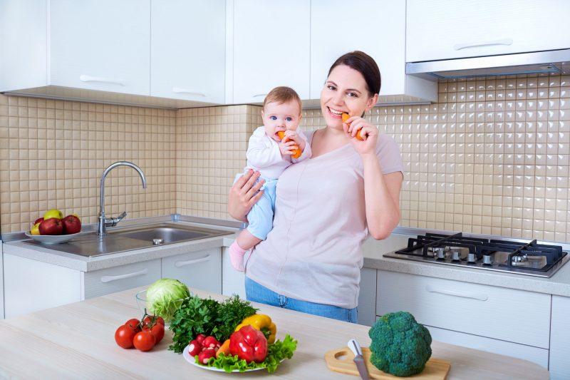 Какие продукты разрешены кормящей маме при диете в первый месяц