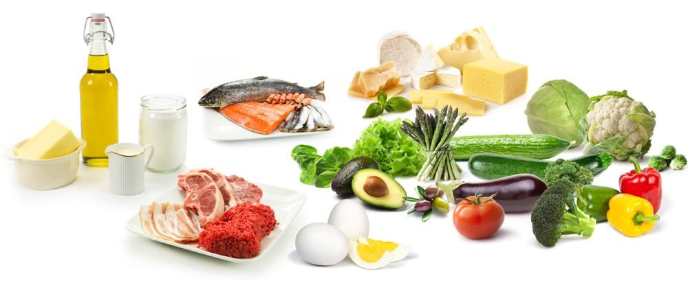Продукты для меню кето-диеты: белый список