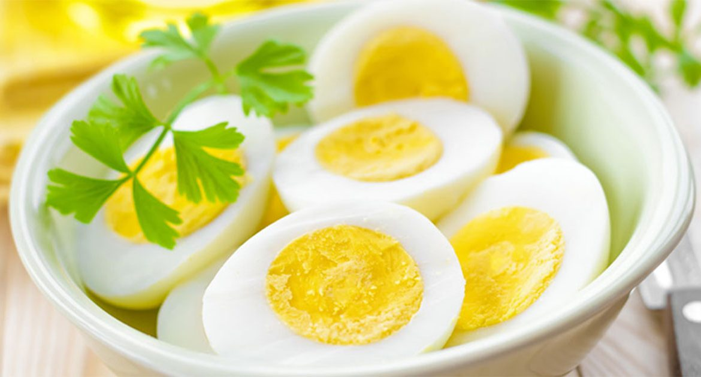 Разгрузочный день на яйцах
