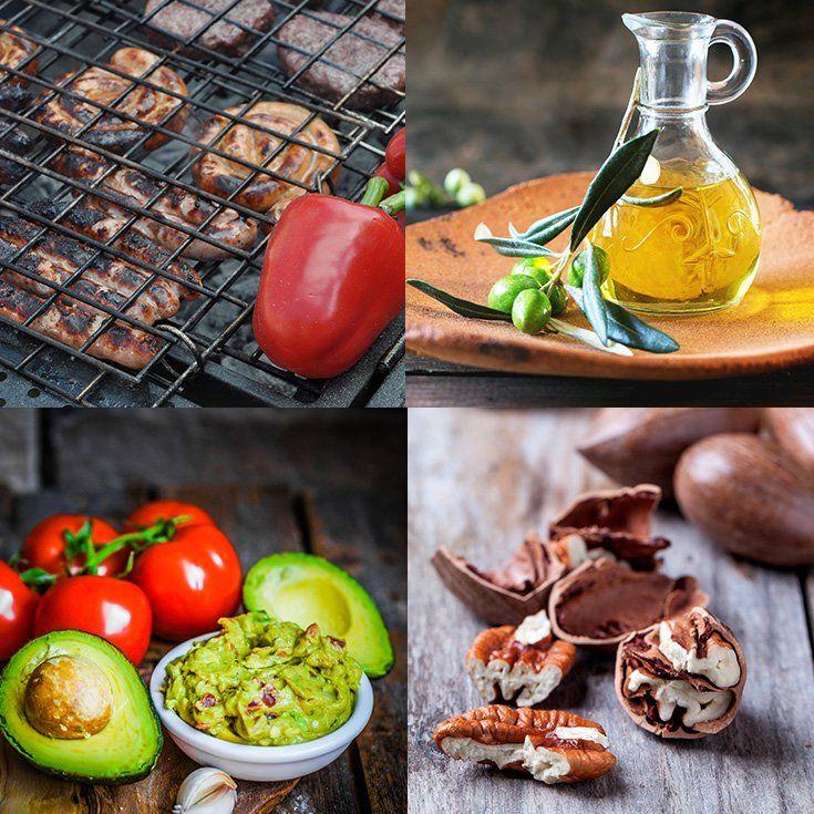 Как составить меню простой диеты для похудения