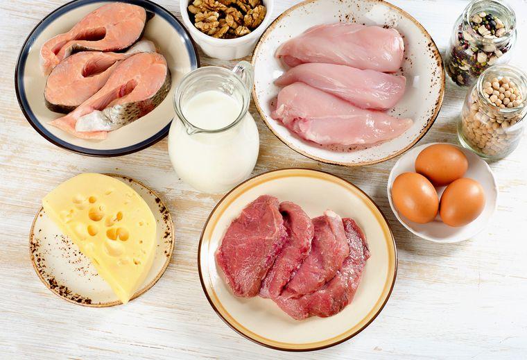 Похудеть на белковых продуктах