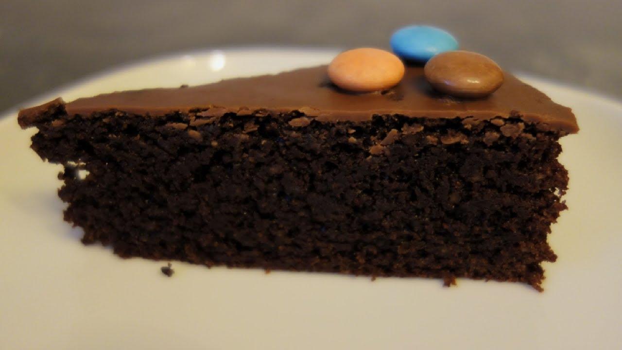 Нутовый шоколадный пирог
