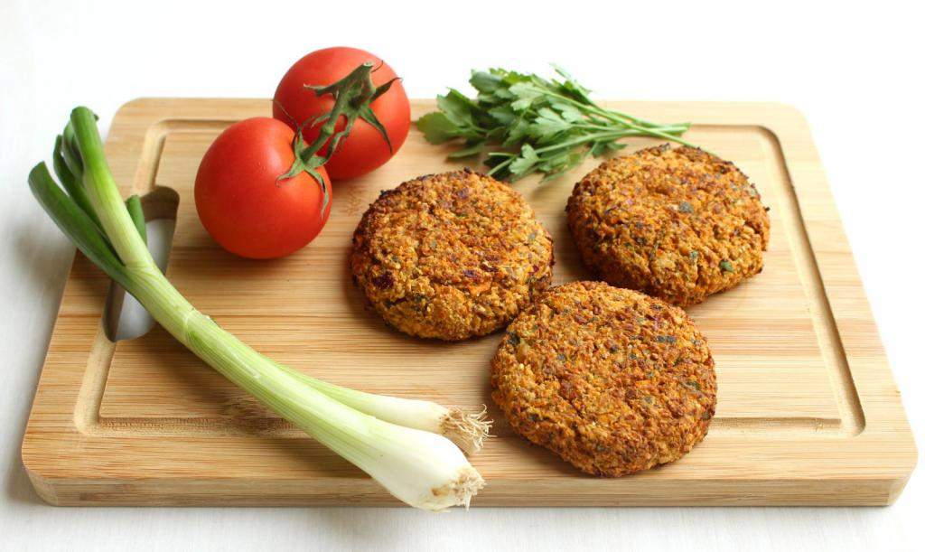 Преимущества котлет для вегетарианцев