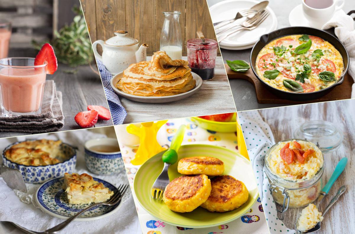 Простые и вкусные вегетарианские рецепты на завтрак