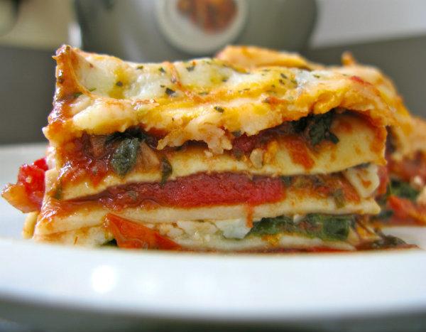 Рецепт классической вегетарианской лазаньи