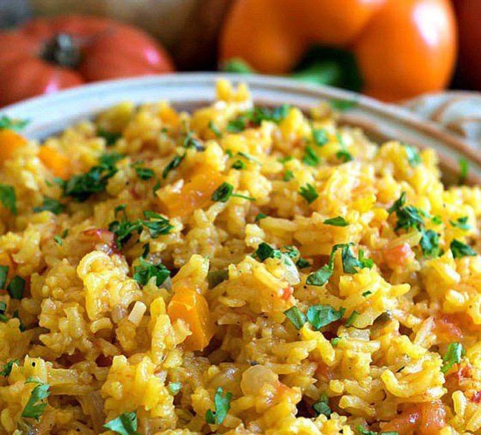 Рецепт вегетарианского плова с овощами