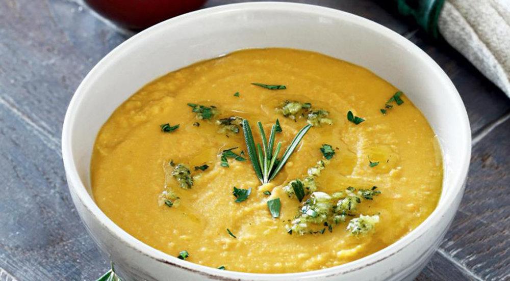 Самый вкусный рецепт вегетарианского горохового супа-пюре