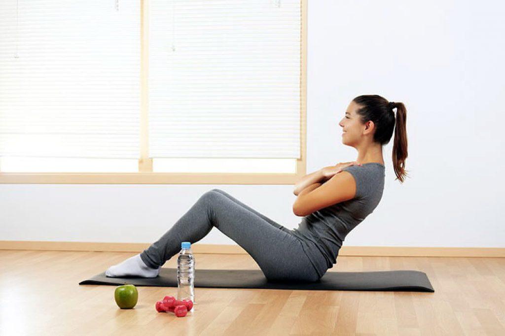 Упражнения на пресс в домашних условиях