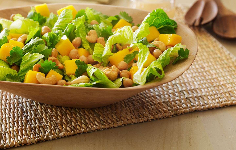 Вегетарианские салаты на праздничный стол