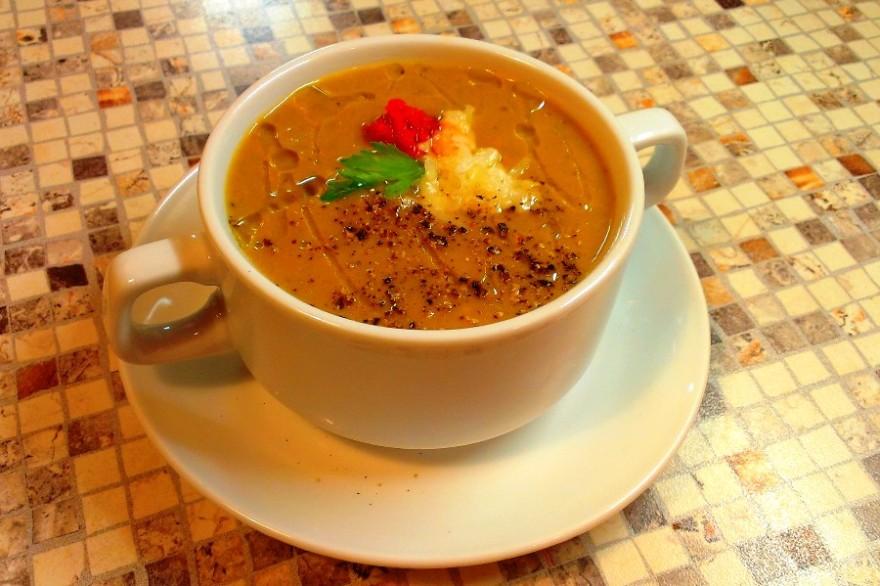 Баклажанный суп