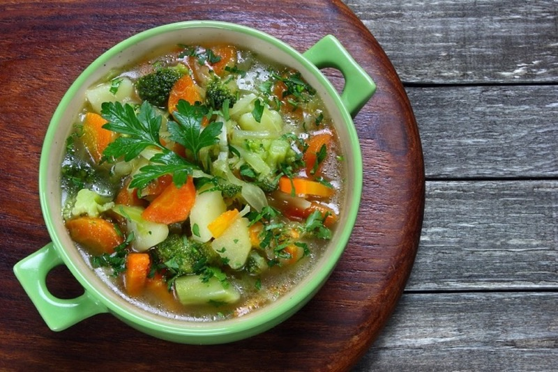 Рецепт вегетарианского супа из овощей