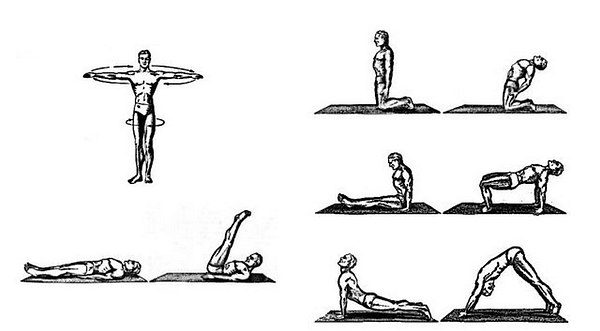 Упражнения в комплексе
