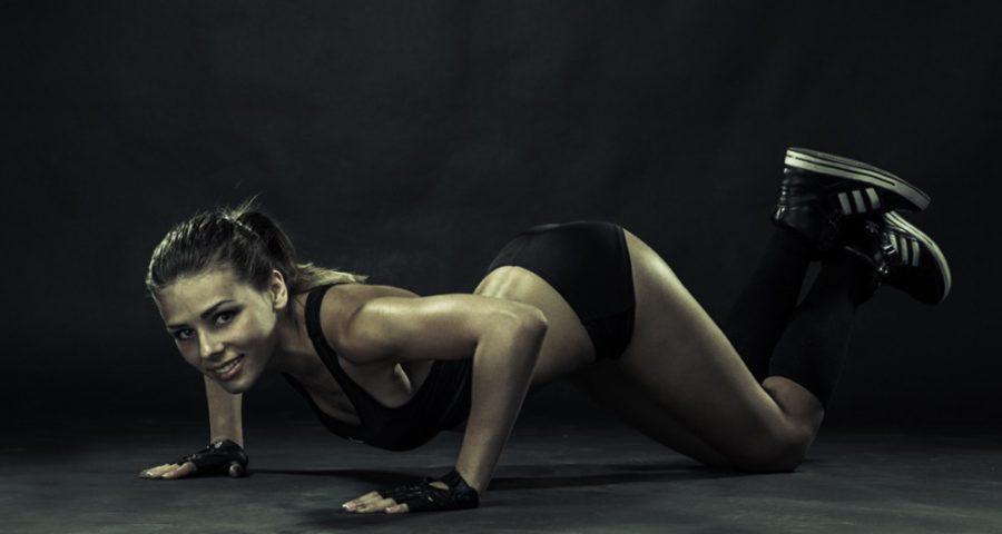 Упражнения на грудь дома