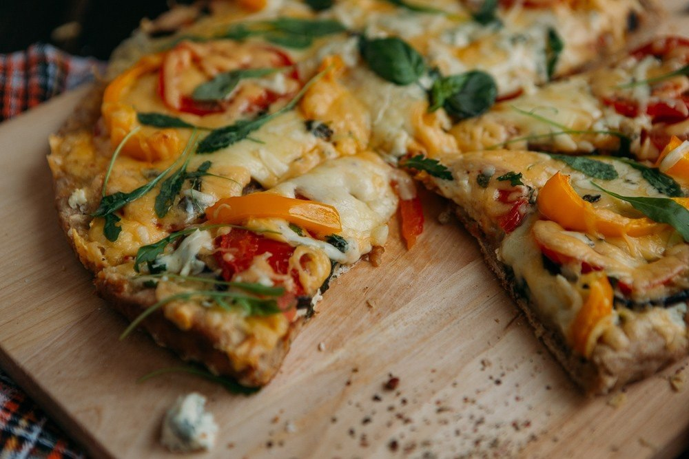 Классическая веганская пицца
