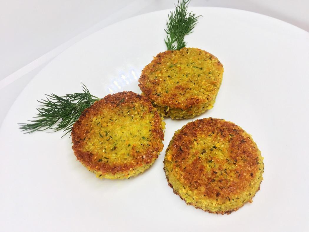 Nutovye kotlety - Вегетарианские рецепты приготовления нута