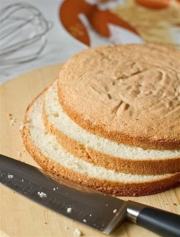 Пышное бисквитное тесто для веганов