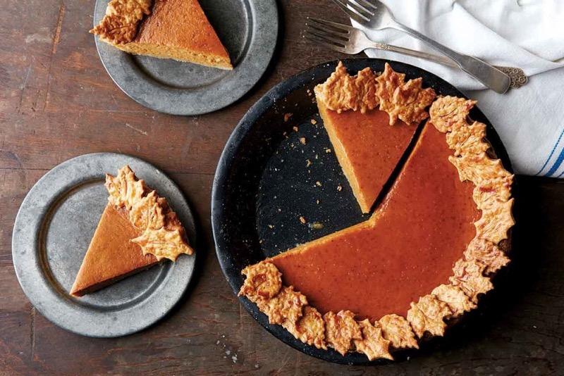 Веганский тыквенный пирог