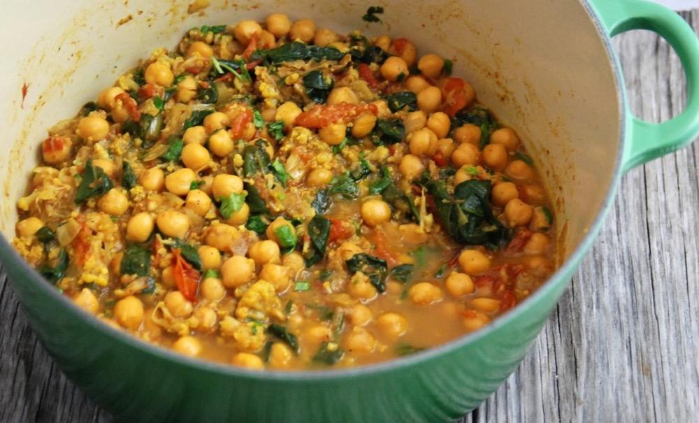 Вегетарианские рецепты приготовления нута