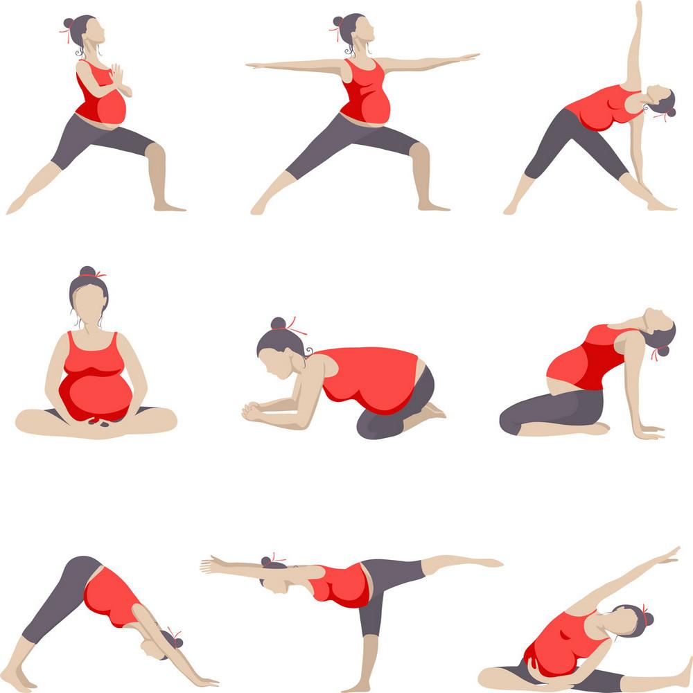 Упражнения при беременности по периодам