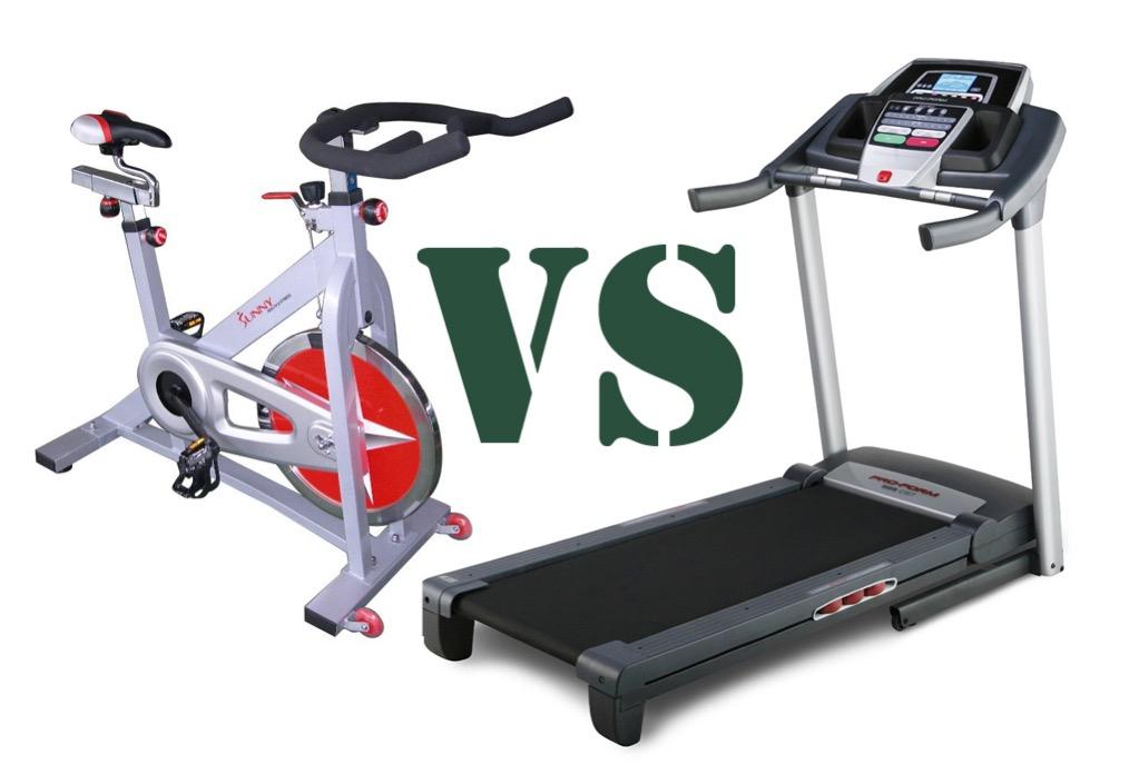 Что лучше: велотренажер или беговая дорожка