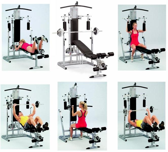 Критерии выбора тренажеров на все группы мышц