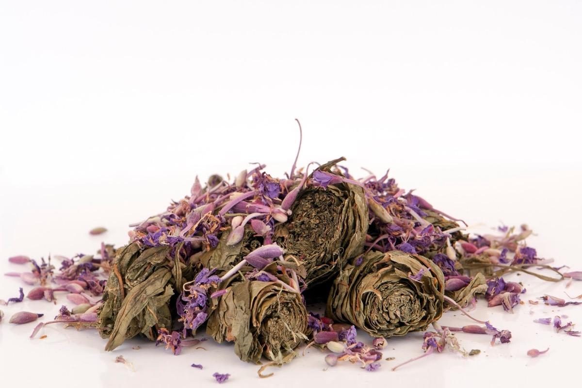 Сочетания иван-чая с другими растениями