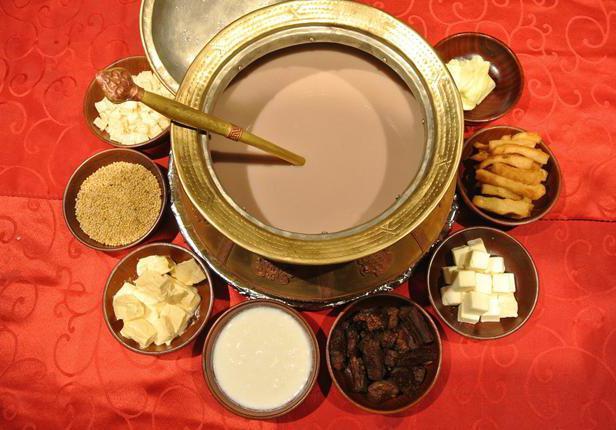 Что входит в состав монгольского чая?