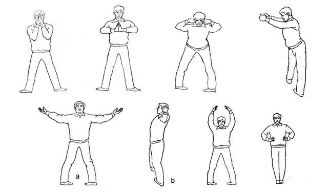 Упражнения в практике Цигун