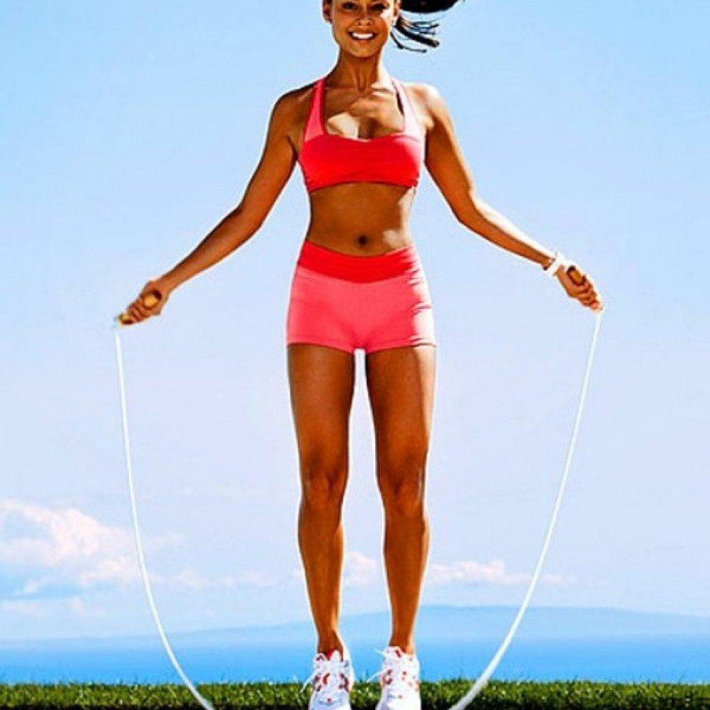 Скакалка для похудения тела
