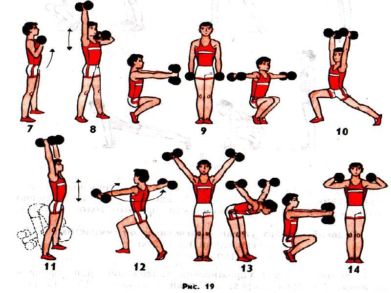 Упражнения для утренней тренировки