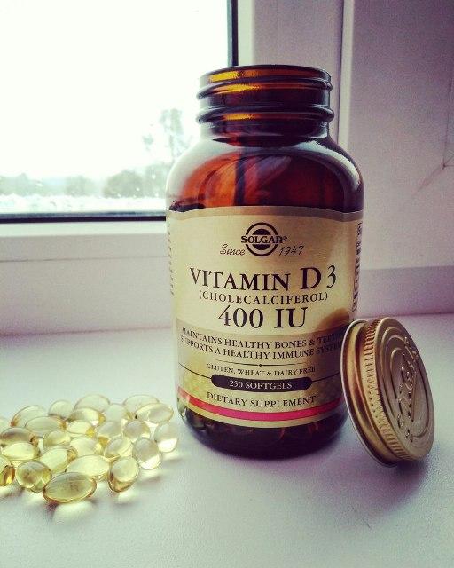 Витамин Д от «Солгар»