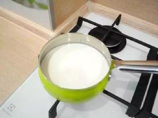 Молоко нагреваем