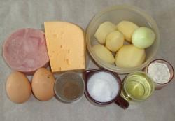 Выкладываем на стол все необходимые ингредиенты