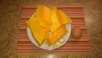Сырую тыкву подготавливаем для рецепта