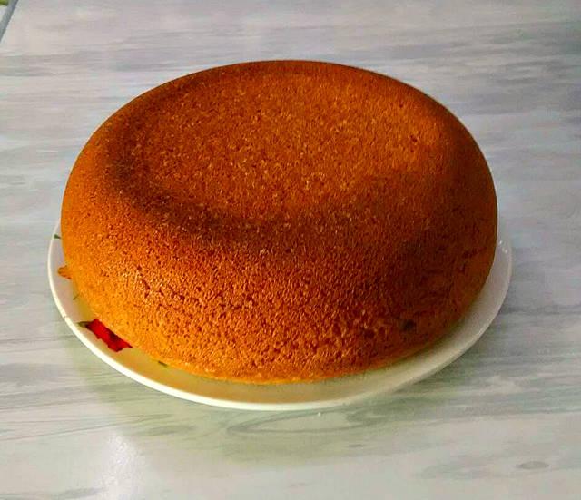 Достаём готовый пирог