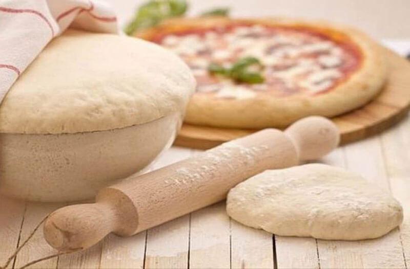 Дрожжевое тесто для пиццы