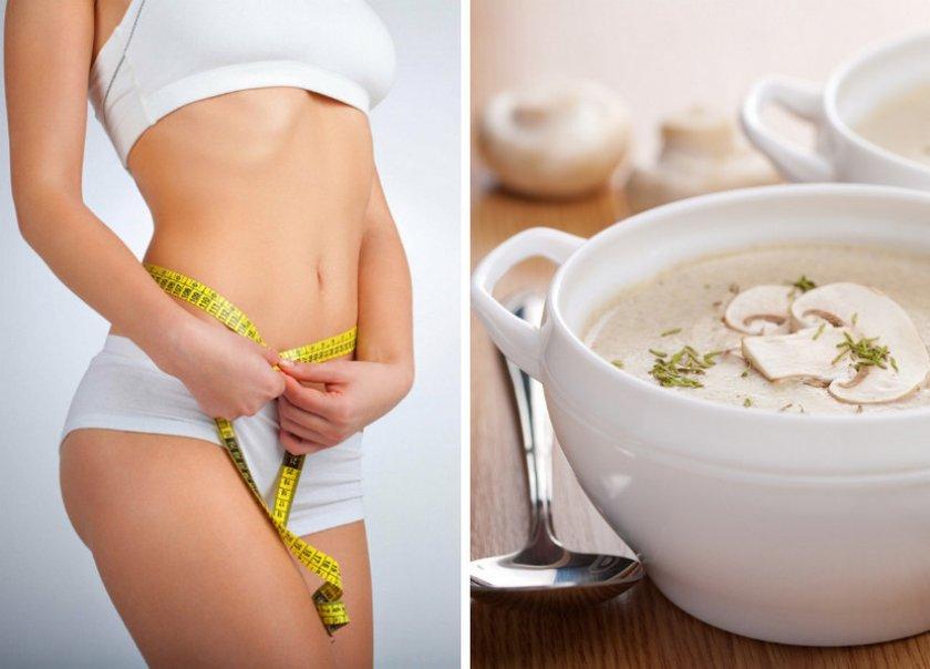 Крем-суп для похудения в блендере