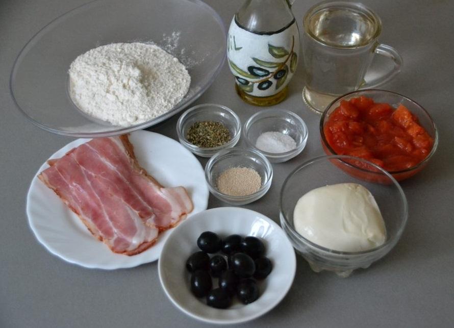 Заранее подготавливаем ингредиенты и посуду