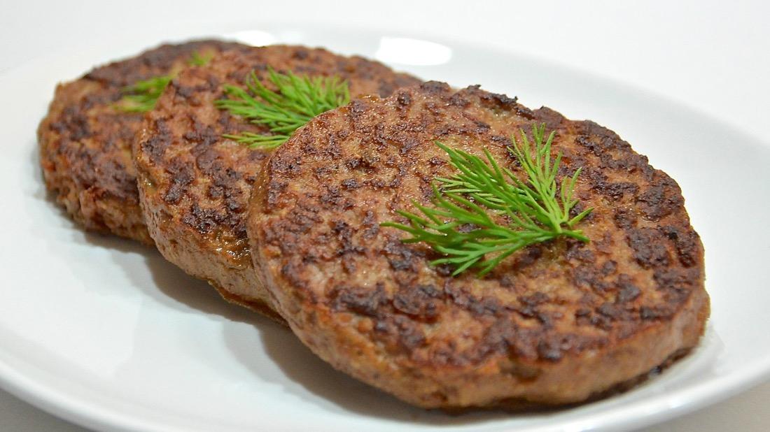 Рецепт печеночных оладий из говяжьей печени