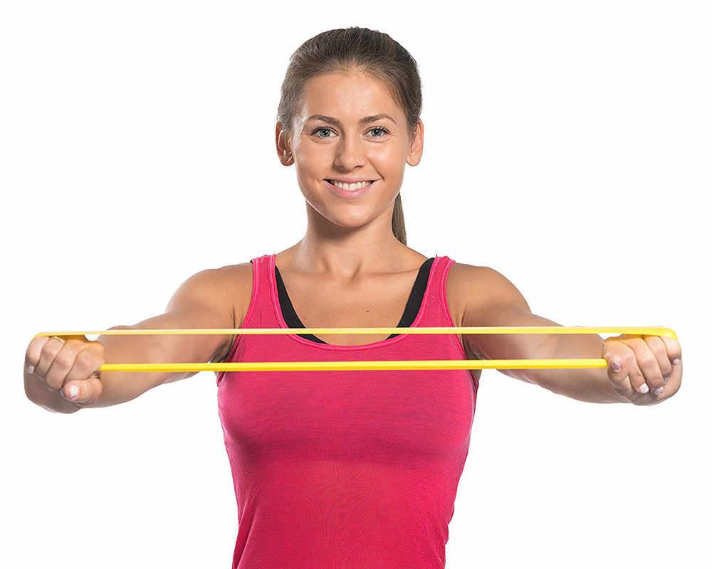 Упражнения с резинкой для рук